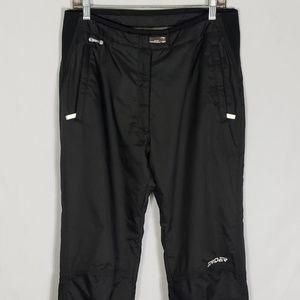 Spyder Ski Women's Black Insulated Pants Size 12